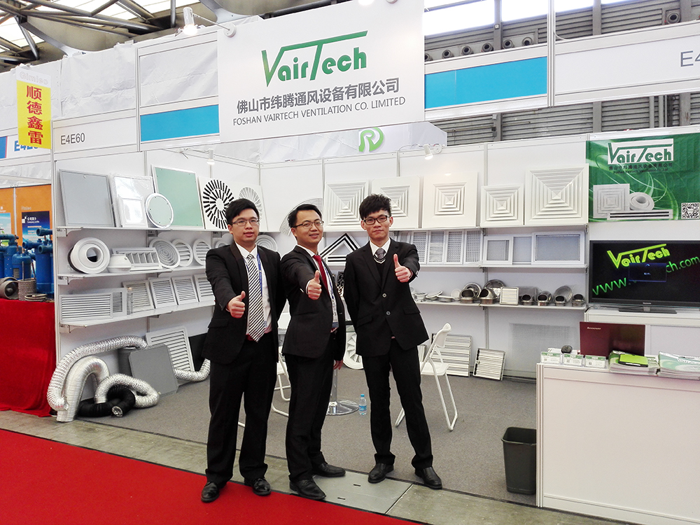 Vairtech Ventilation in CRH2015