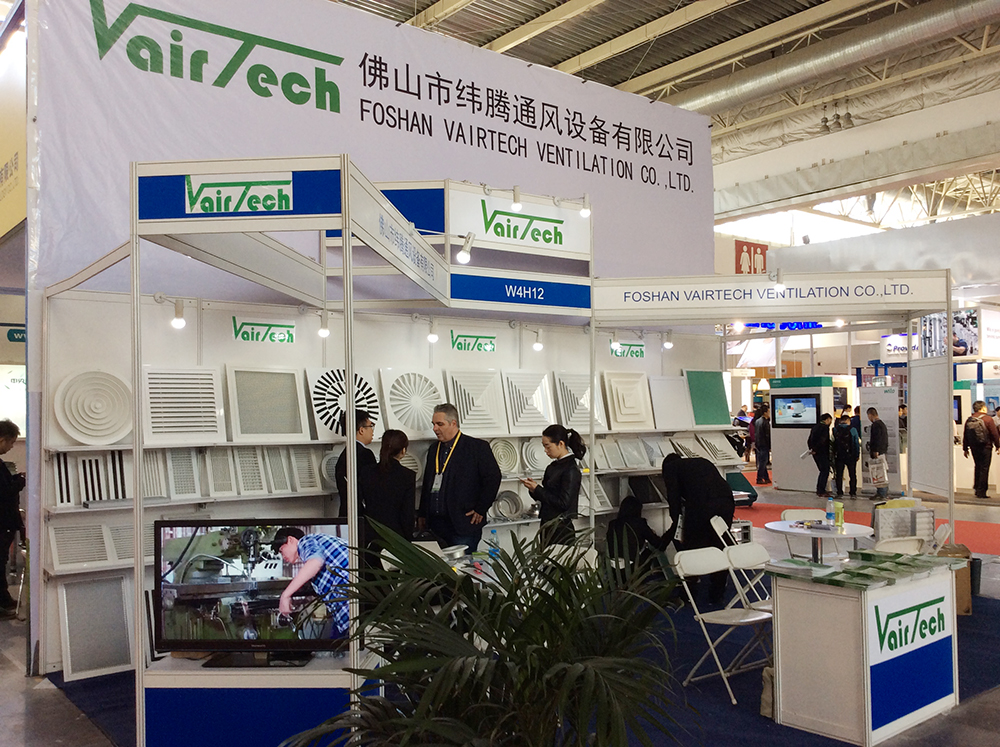 Vairtech Ventilation in CRH2016