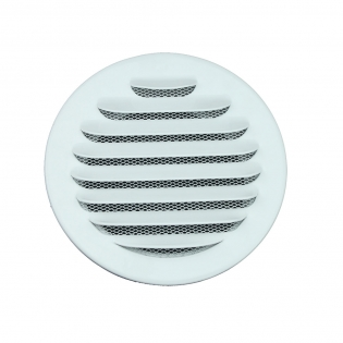 EV-A2 Aluminum Round Air Vent, with powder coated Ral9016