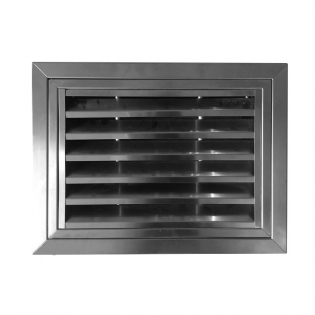 SG-SH Stainless steel hinged return air grille