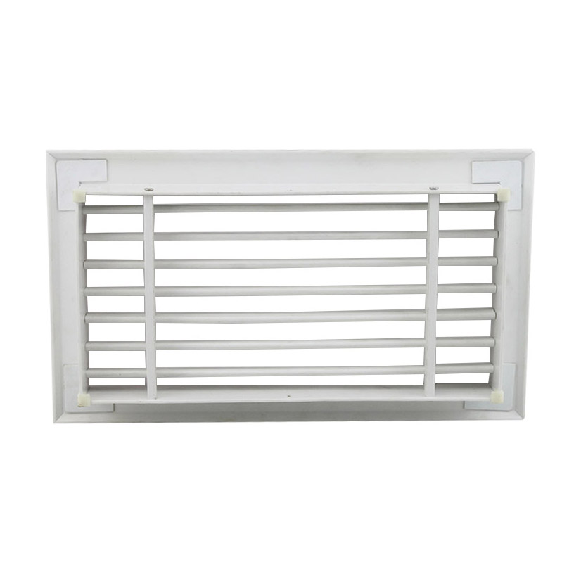 SDG-P ABS single deflection air grille, supply air grille, plastic air grille