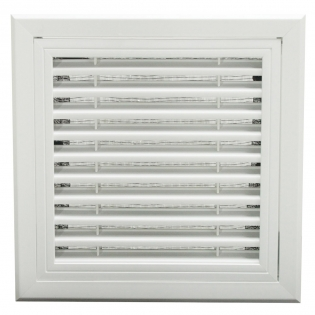SG-PH Plastic hinged type return air grille